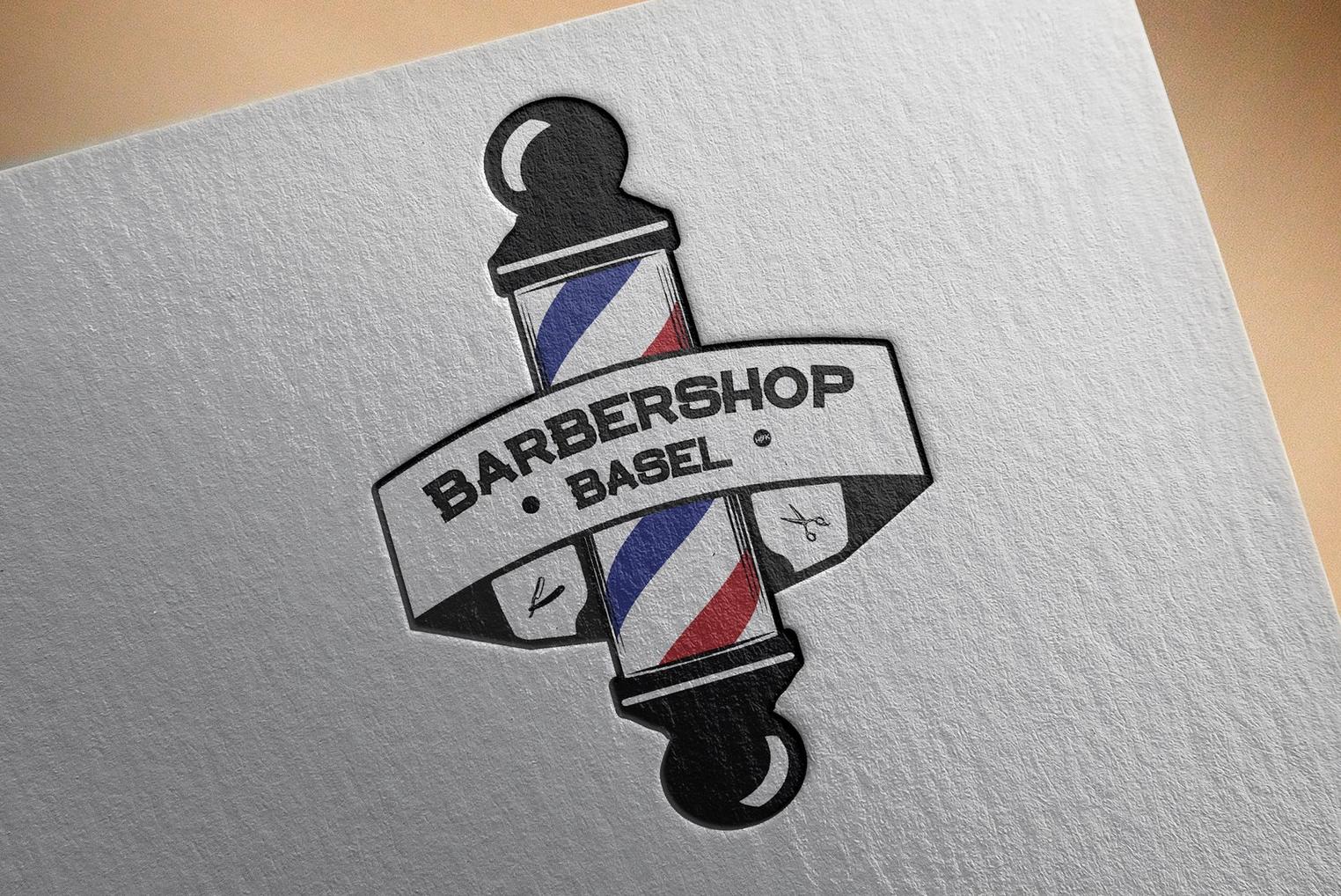 Logo pour un Barber Shop