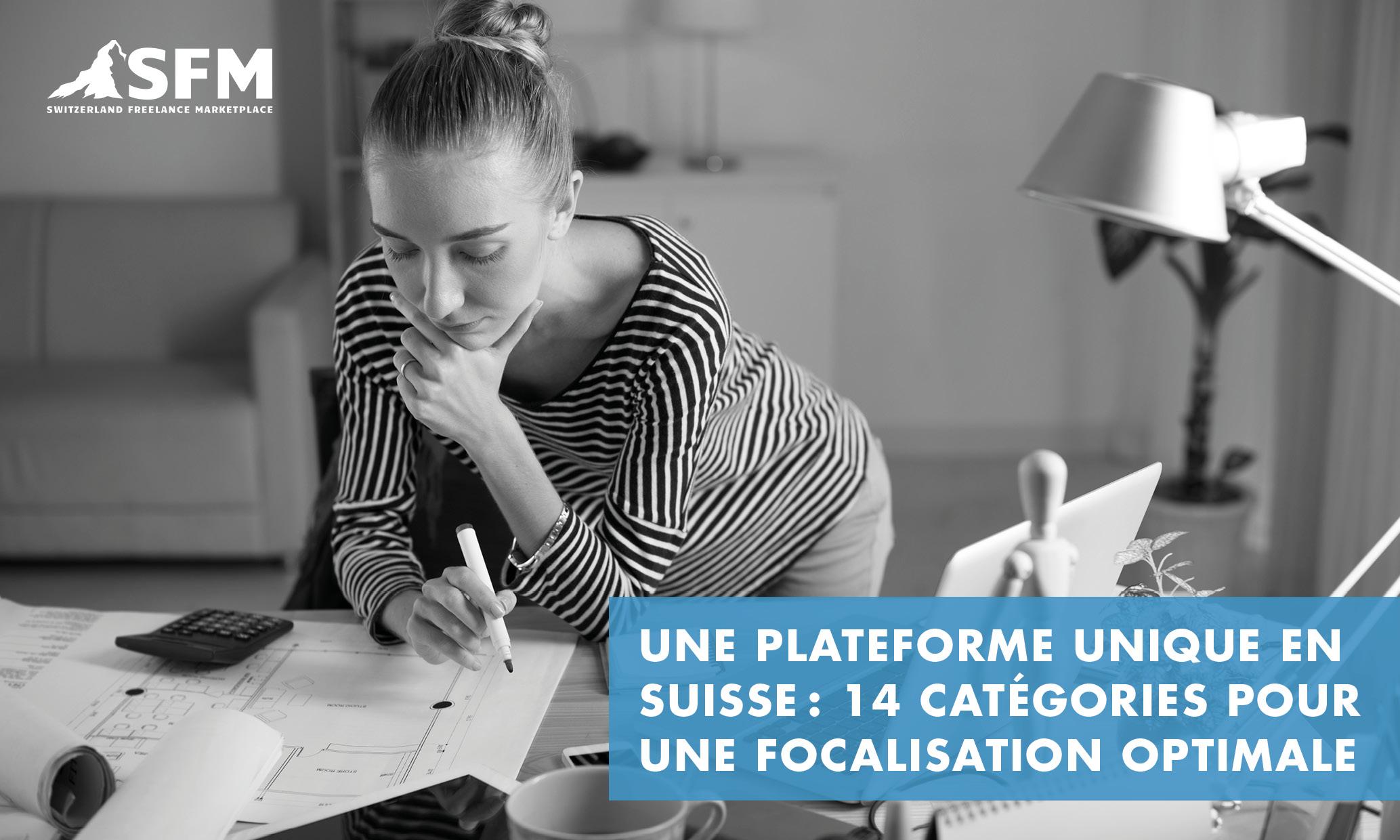 Une plateforme unique en Suisse: 14 catégories pour une focalisation optimale