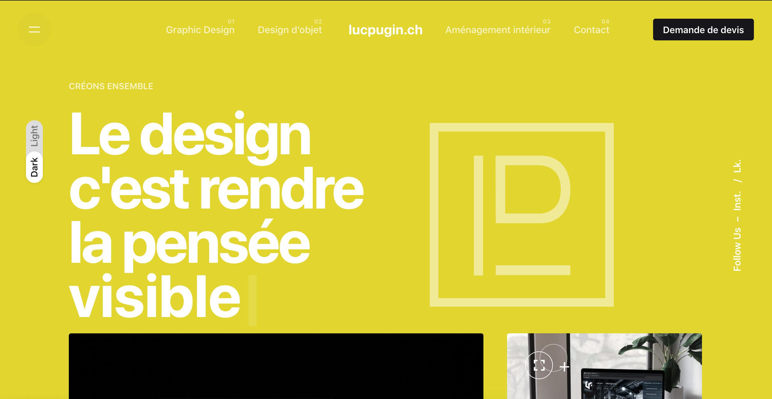 Atelier design Luc Pugin