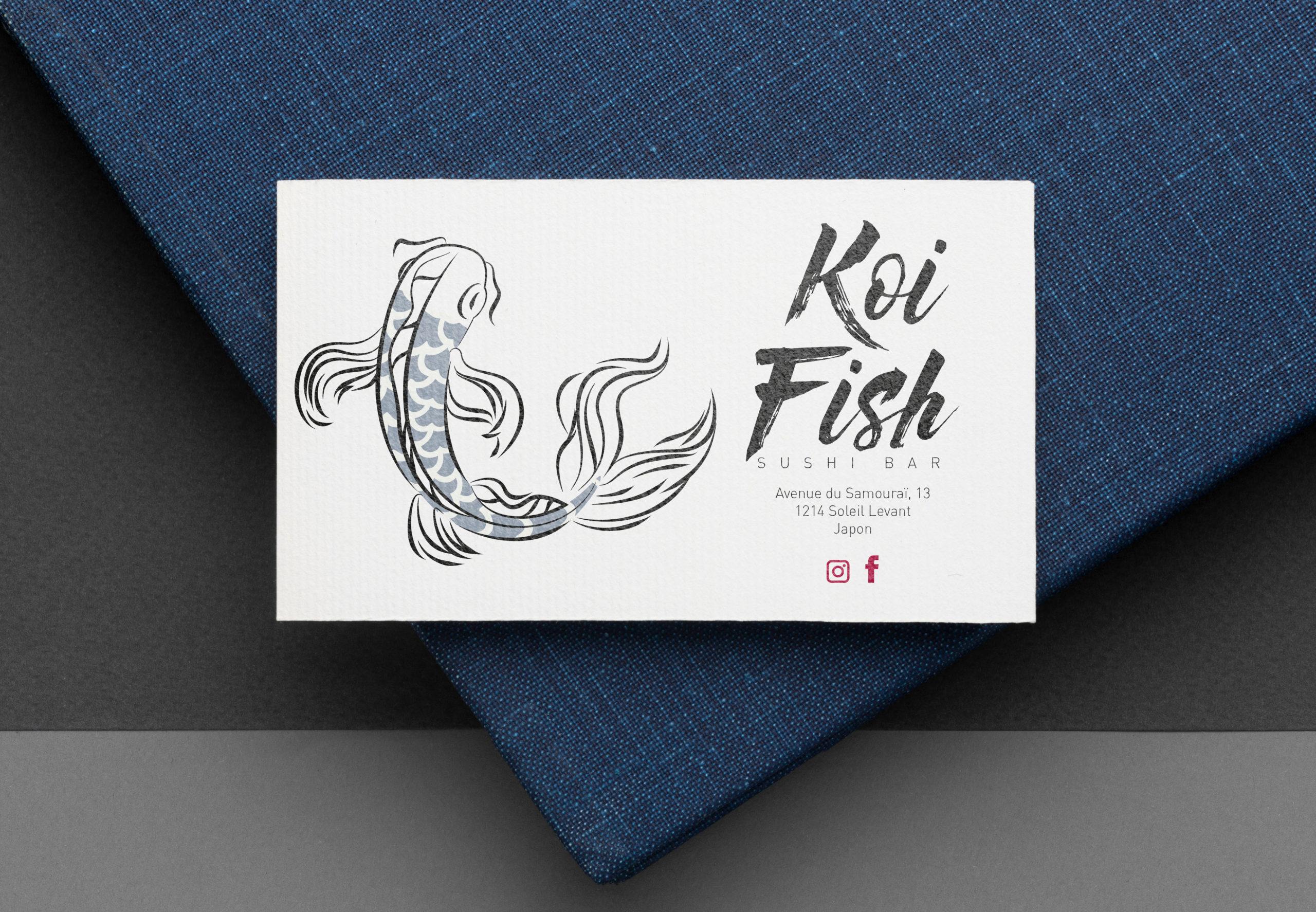 Koi Fish Sushi bar