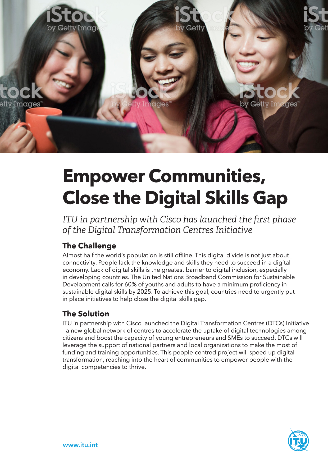 ITU 2 Pager Reports Campaign (Case Study Reports)