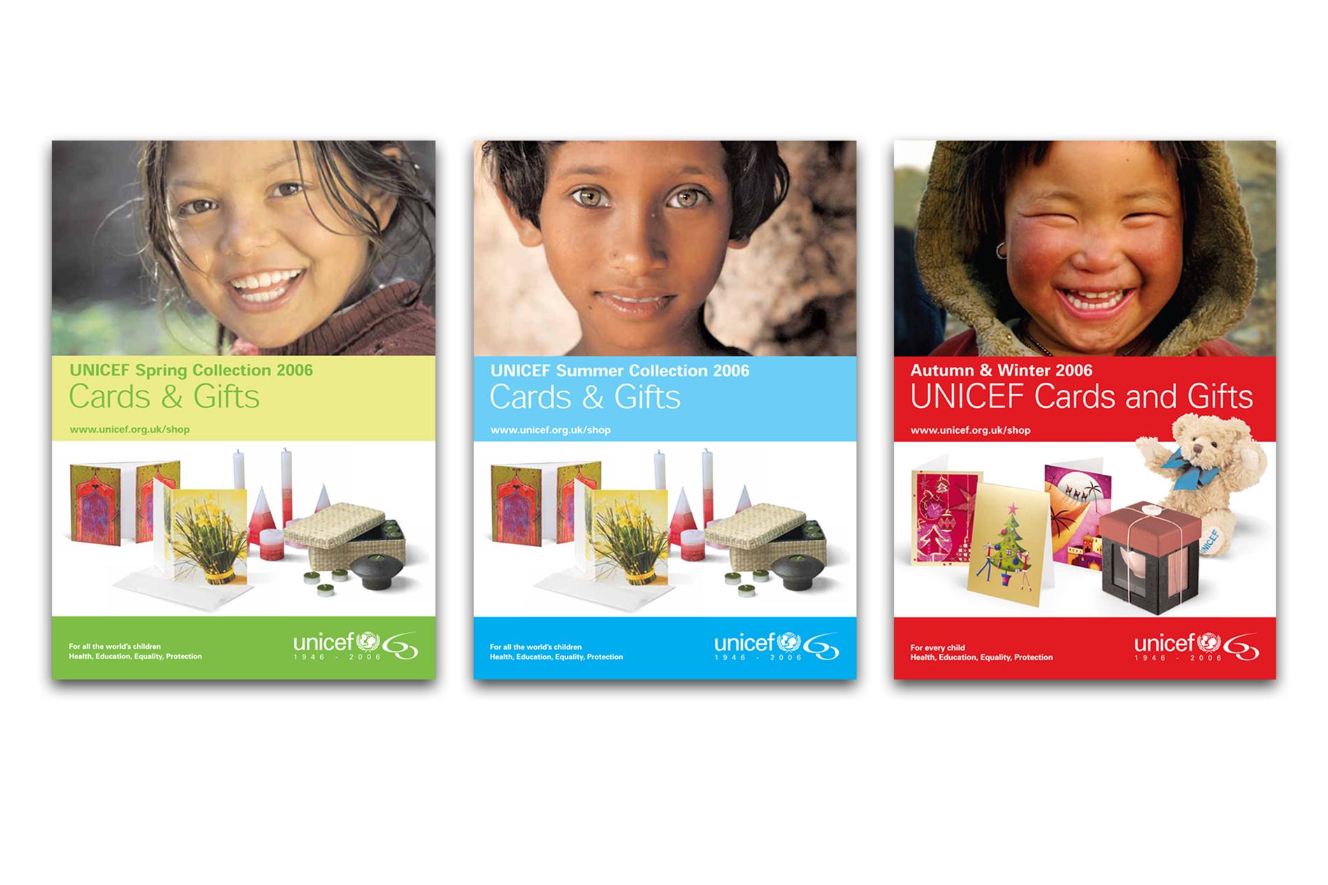 UNICEF Brochureware (Catalogues & Brochures)
