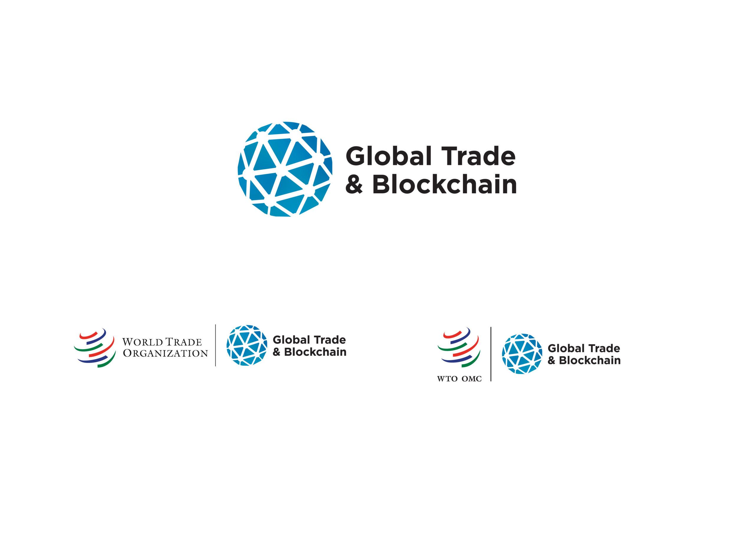 WTO Global Trade & Blockchain (Logo & Branding)