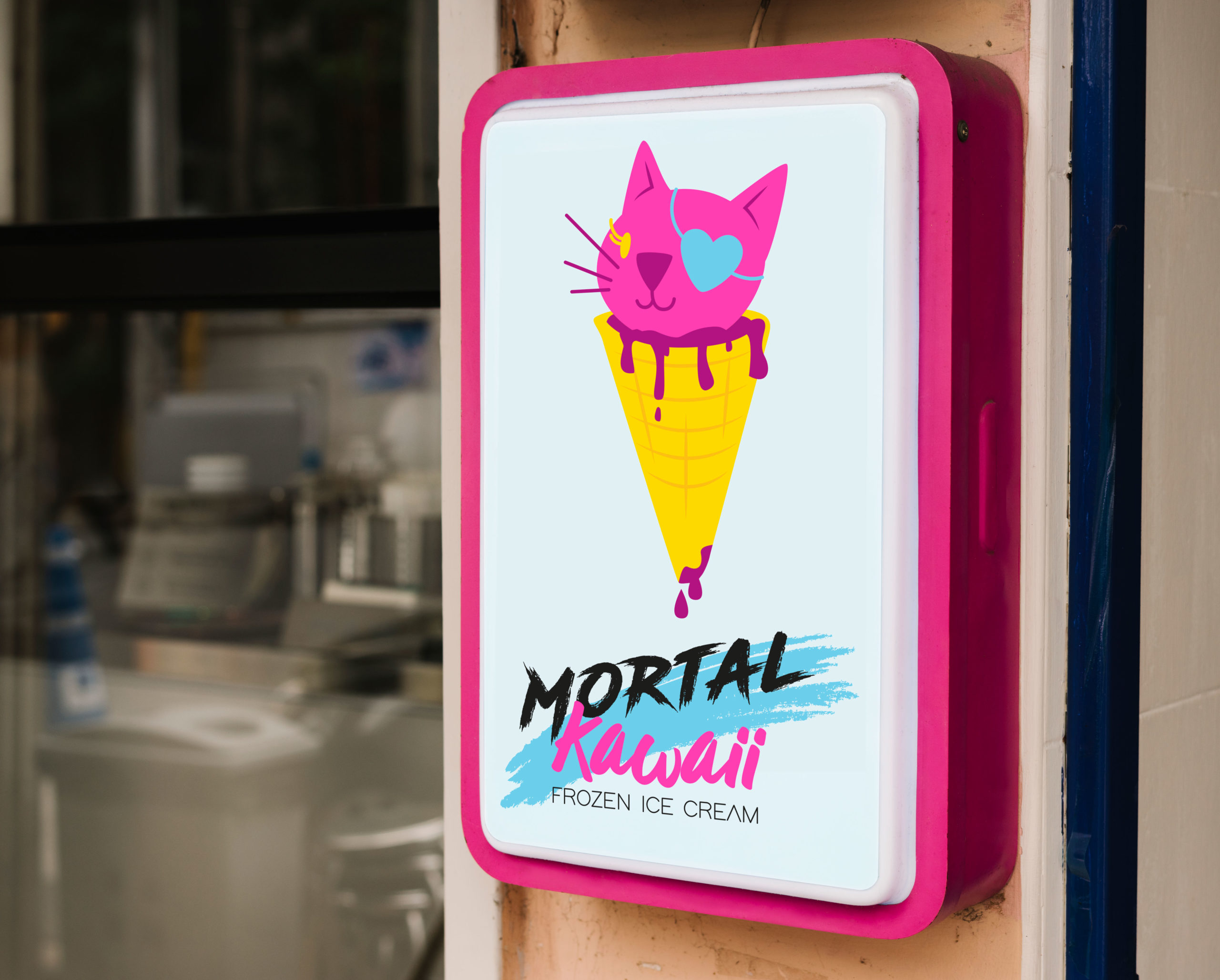 Mortal Kawaii Frozen IceCream