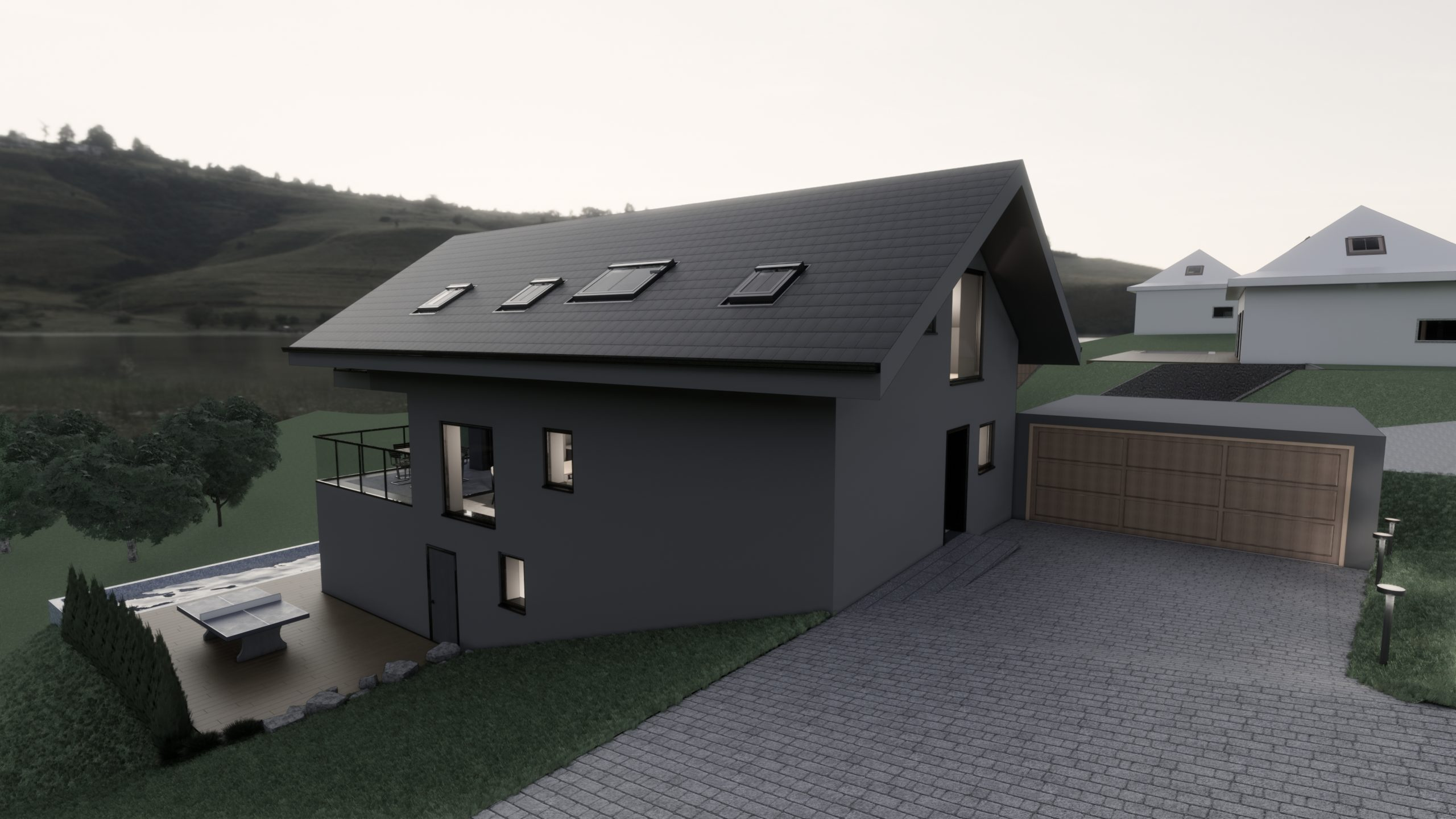 Projet Villa Blonay