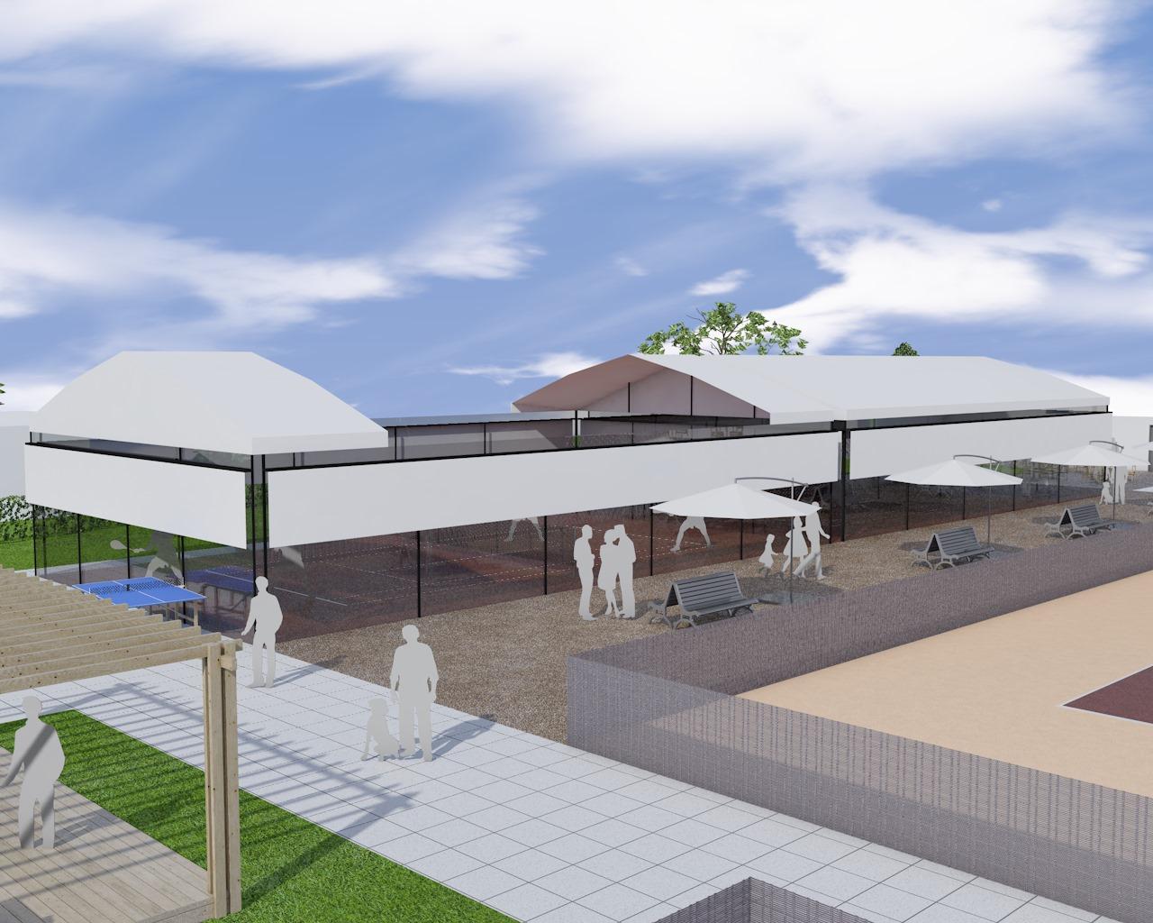 Tennis club morges – réorganisation des terrains