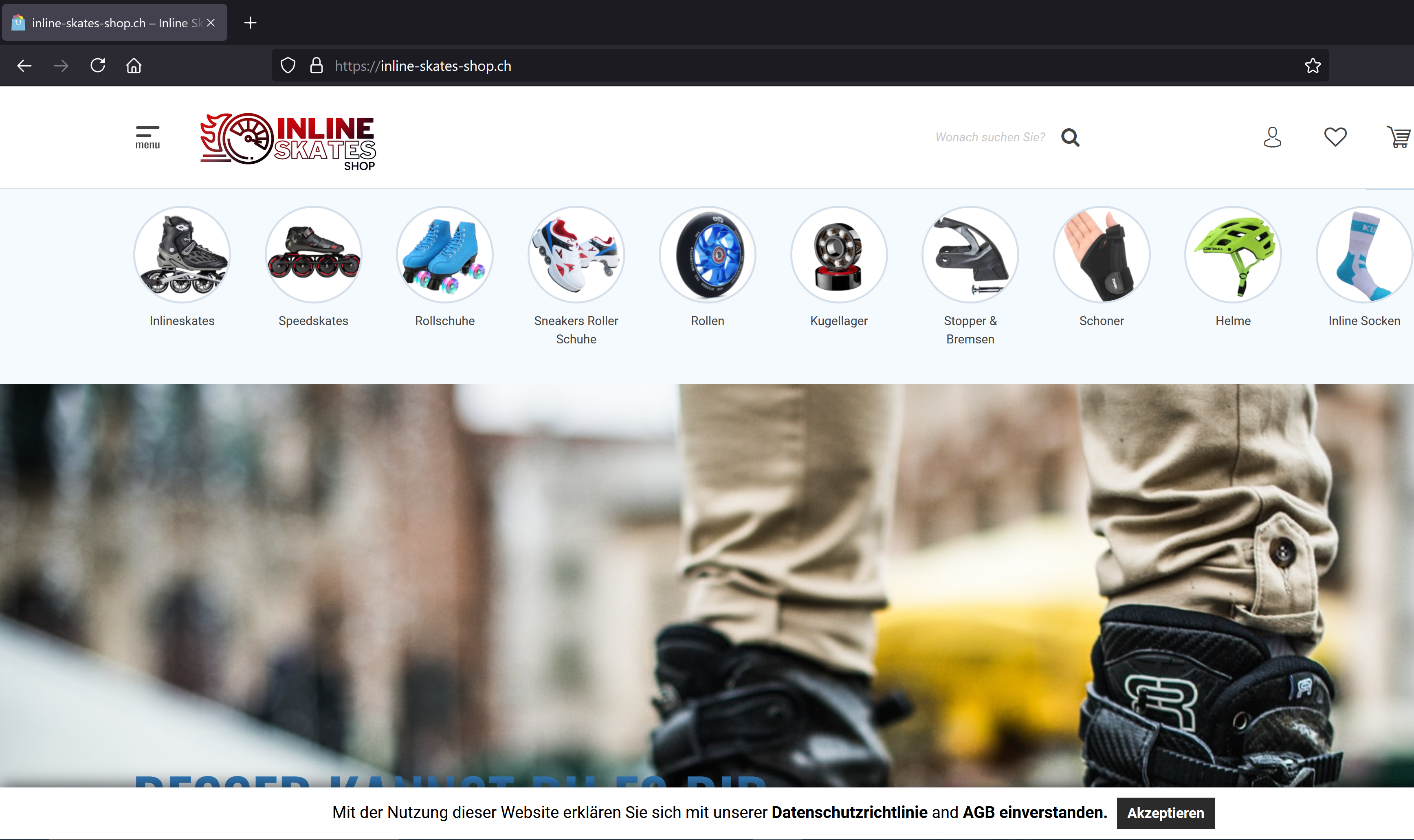 Inline Skates Shop WooCommerce